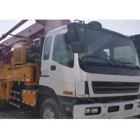 China ISUZU+PM 37M Used Concrete Pump 2014 Year With Commissioning And Training 42m 52m on sale