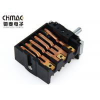China High Temperture Selector Rotary Switch , Controller Rotary Fan Switch 250V 16A wholesale