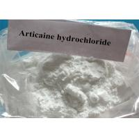 Quality Active Pharmaceutical Anesthetic Articaine Hydrochloride CAS 23964-57-0 for sale