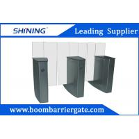 China Indoors Durable Flap Road Barrier Gate With Sound Alarm Indication Function wholesale