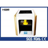 China Yellow 0.1 ~ 0.4 Mm Accuracy Industrial Grade 3D Printer For ABS Filaments wholesale
