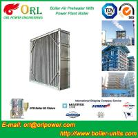 China Water Heat CFB Boiler APH Steam Air Preheater In Cement Plant , Tubular AirPreHeater wholesale