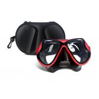 China No Chemical Effect Womens Snorkel Mask , Mens Diving Mask Anti - Scratch wholesale