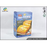 China Embossing Paper Food Packing Boxes Recyclable Raw Materials ROHS Certificated wholesale