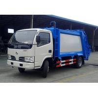 China HIgh Performance Dongfeng 8CBM small compactor garbage truck price, garbage can cleaning truck on sale