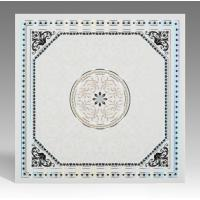 China Hot Stamping Surface Waterproof Bathroom Ceiling Panels Various Colors / Style  wholesale