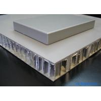 China Marble Like Fluorocarbon Coated Aluminum Honeycomb Core Panels 6mm-50mm wholesale