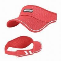 China Sun cap, made of 100% cotton wholesale