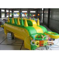 China Small Inflatable Interactive Games For Rent Table Airball Game Zweefbal EN14960 wholesale