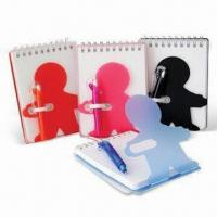 China Notebooks for Promotional and School Use, Made of PVC, Small Orders are Welcome wholesale