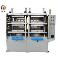 China 380V 40T Hydraulic Heat Press Molding Machine With Two Work Stations wholesale