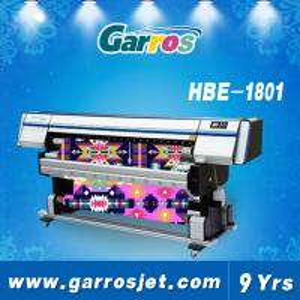 China Garros HBE1801 Large Format Digital Printing Machine Industrial Textile Inkjet Printer with DX5 Printhead wholesale