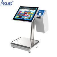 China Touch Screen POS Scale,PC POS Scale,Touch Scale,Retail Scale,Electronic Balance wholesale
