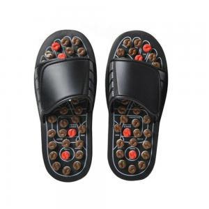 China Comfortable Acupressure Massage Slippers , Foot Massage Slippers Magic Paste Design wholesale