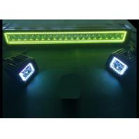 China 22 Inch Waterproof  Led Halo Light Bar , Muti Color Color Changing Led Light Bar wholesale