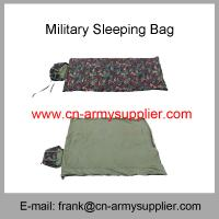 Wholesale Water resistant Polyester Oxford Camouflage Military Sleeping Bag