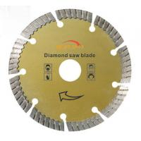 China Stone Cutting 14 Diamond Concrete Saw Blade , Concrete Cutting Blades 105mm - 400mm wholesale