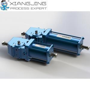 China Compact Scotch Yoke Pneumatic Actuator , LPC Limitorque Electric Actuator on sale
