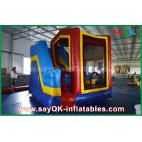 Buy cheap PVC Outdoor Inflatable Bouncer Slide / Kids Bounce Jumping House from wholesalers