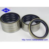 China Crankshaft Rubber Oil Seal , High Speed Shaft Seal 95*120*17mm For 6D95 Engine on sale