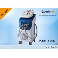 China Painless Epilation IPL SHR Machine with 3 handpieces for Spots Removal wholesale