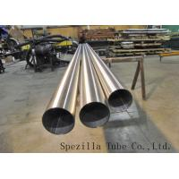"Wholesale ASTM A270 TP316L S.S Welded Sanitary Pipe Polished 1 1/2""x0.065""x20ft for high purity from china suppliers"