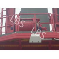 China Heavy Offshore MarineTower Crane Winch For Mobile Cranes , Crawler Cranes wholesale