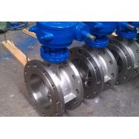 Quality Class 150 Stainless Steel Eccentric Butterfly Valve , Flanged Triple Offset for sale