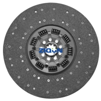 China DAF Outer Diameter 350mm 1861777037 Auto Clutch Disc wholesale