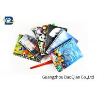 China A4 A5 A6 3D Lenticular Notebook Eco - Friendly Material For Student Stationery wholesale