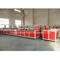 China Fireproof Plastic WPC PVC Profile Extrusion Machine Construction Panel Use on sale