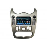 China  Auto Radio Stereo Renault Logan Car Multimedia Navigation System Receiver Quad Core  for sale