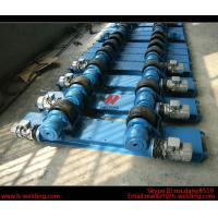 China Bolt Adjustable Fit Up Pipe Welding Rotator For Shell 2T - 60 Ton Tank Rotator Equipment wholesale