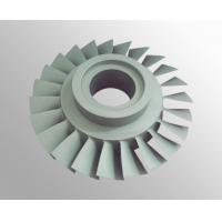 China High temperature nickel base alloy turbo compressor wheel with vacuum investment casting wholesale