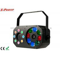 China 8 x 3W Disco Party Lights Gobo Effect With Laser RGBW / Built-in Programmer wholesale