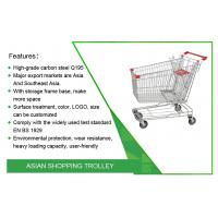 China 60L 40kgs Grocery Logistics Trolley Cart OEM Available on sale