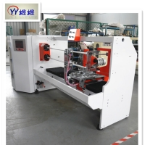 China Bopp Adhesive 25.4mm Tape Roll Cutting Machine wholesale