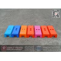 China Plastic Temporary Fencing Block / Temporary Fence Feet wholesale