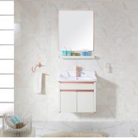 China Bathroom Cabinets With Towel Hanger Washing Basin Set wholesale