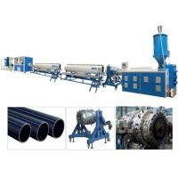 China PPR PP HDPE PE Pipe Plastic Extrusion Machine / Production Line Single Screw wholesale