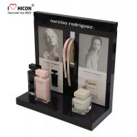 China Get Attention Acrylic Custom Cosmetic Display Stand Low MOQ For Beauty Store wholesale