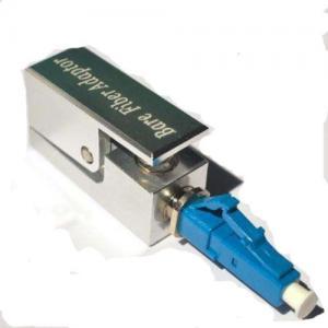 Quality Bare Singlemode Simplex Fiber Optic Adapter ABS Blue fiber adoptor for sale