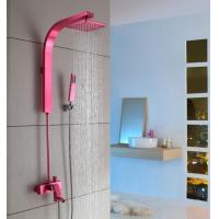 China Luxury Wall Mount Antique Rainfall Shower Set Space aluminum wholesale