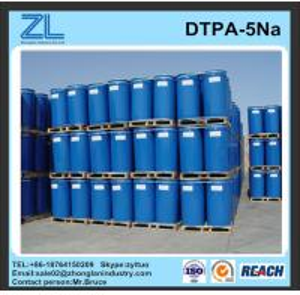 China light yellow DTPA-5Na liquid for cosmetics wholesale