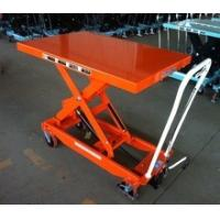 China Movable Manual Hydraulic Table Cart Stationary Electric Platform For Lab wholesale