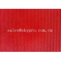China Commercial Anti-fatigue Wide / fine ribbed flooring rubber mats 3mm thick min. wholesale