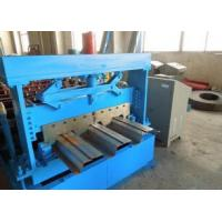 China 1219 mm Width Metal Floor Deck Roll Forming Machine wholesale