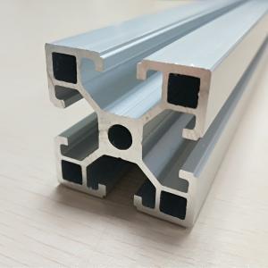 China Fine Metal Anodize Aluminum Spare Parts T Slot Extruded Frame Profile wholesale