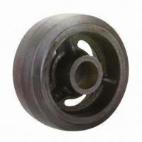 China Rubber Wheel with Cast Iron Center wholesale