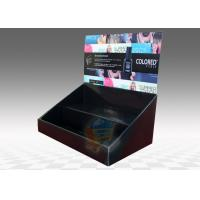 Wholesale Table Top Cardboard Display Stand 2 Tiers for Cosmetics , foldable from china suppliers